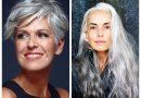 Madingas dažymas žiliems plaukams – 2020