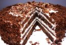 """Kefyrinis tortas """"Juodasis princas"""""""