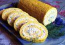 Omleto vyniotinis su lydytu sūriu.Tai taip skanu, kad neapsakyti žodžiais!