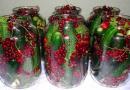 Marinuoti agurkai su raudonaisiais serbentais – pikantiški ir traškūs