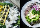 Pjaustome žuvį šventiniam stalui