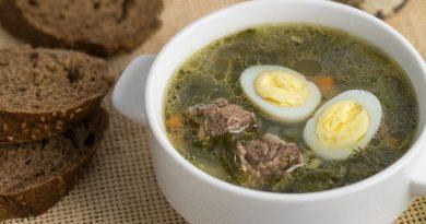Skaniausia rūgštynių sriuba. Mano mėgstamiausia sriuba!