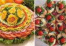 23 nuostabios idėjos originaliam ir neįprastam patiekalų papuošimui – svečiai bus sužavėti!