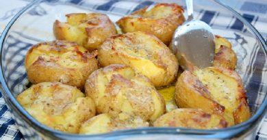 Portugališkas keptų bulvių receptas. Tokį patiekalą jūs tikrai norėsite paruošti dar kartą!
