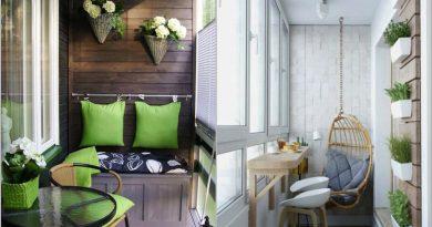 25 idėjos jūsų balkonui