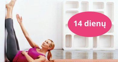 Darykite šiuos pratimus 14 dienų ir pastebėsite, kaip dingsta jūsų pilvukas